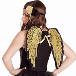 Other - BEAUTIFUL GOLDEN ANGEL COSTUME NEW WITH TAGS!!